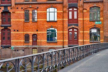 Le quartier des entrepôts de Hambourg