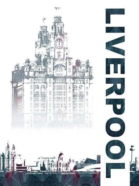 Liverpool van Printed Artings