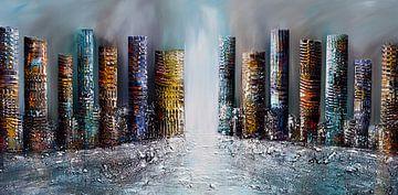 Skyline city von Gena Theheartofart