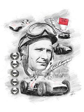 Juan Manuel Fangio van Theodor Decker
