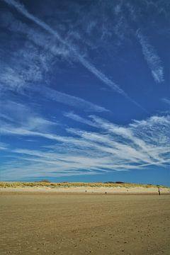 Vergezicht op het strand van Vlissingen van DoDiLa Foto's