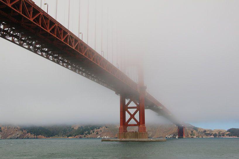 Golden Gate Bridge In de Mist van Paul Franke