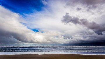 Wolken boven de Noordzee