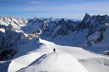 Alleen in de Franse Alpen van Michaelangelo Pix