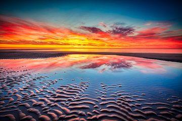 Seestück voller Farben von