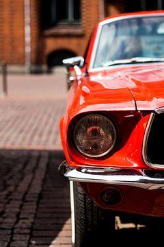 Das rote Auto von Franziska Pfeiffer