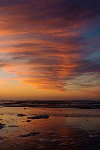 Ameland, Sonnenuntergang