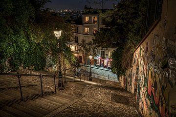 Soirée à Montmartre.... sur Peter Korevaar