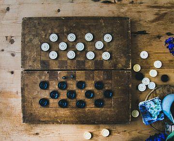 Antikes Schachbrett von Photography by Naomi.K