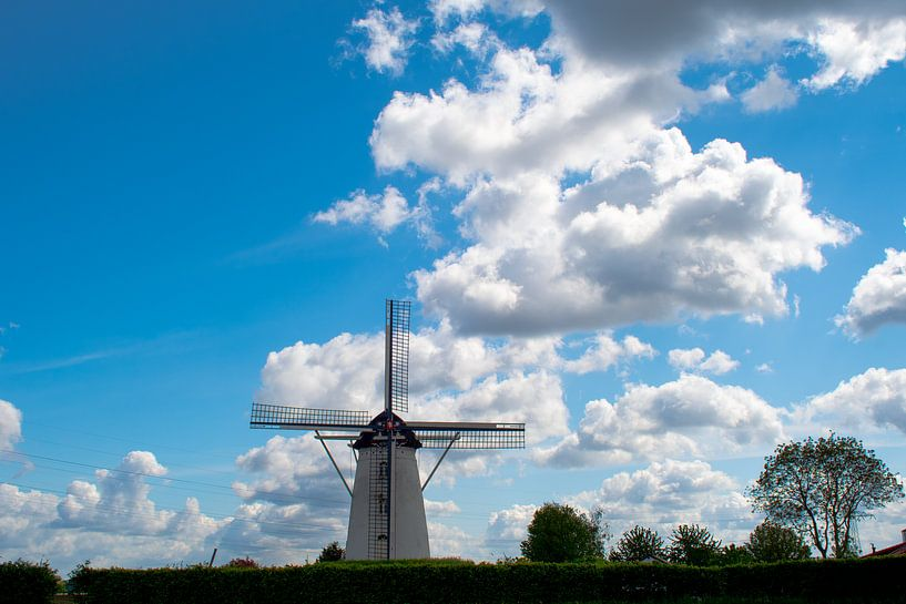 Sint Antonius molen in Weert-Laar van JM de Jong-Jansen