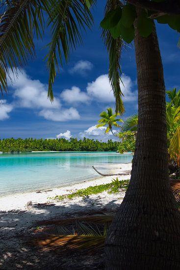 One Foot Island, Aitutaki - Cook Islands van Van Oostrum Photography