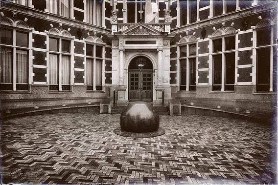 De entree van het Academiegebouw