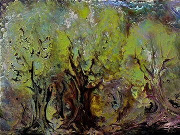Geheimnis der Bäume van Heidrun Carola Herrmann