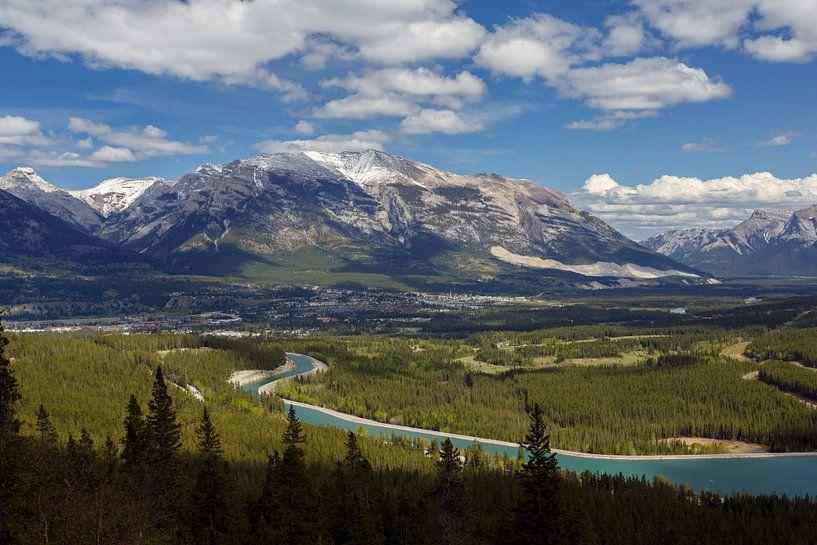 Uitzicht Canada van Menno Schaefer