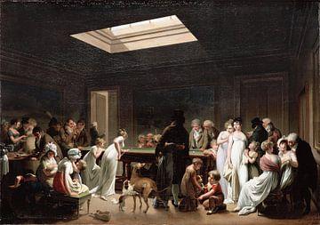 Biljart, Louis-Léopold Boilly, spel van Biljart