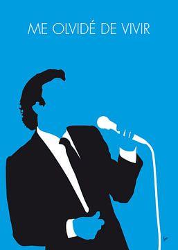 No279 MY Julio Iglesias Minimal Music poster van