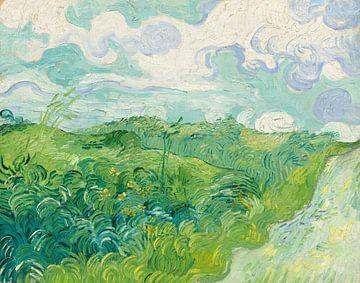 Groene tarwevelden, Auvers, Vincent van Gogh - 1890