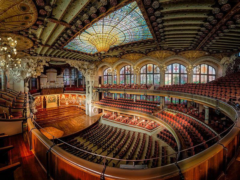 Palace of Catalan Music van Roy Poots