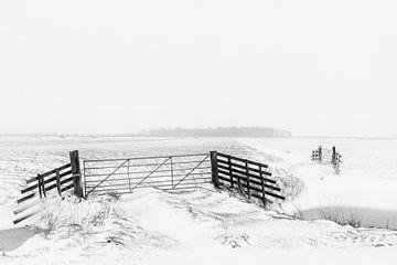 Winterbild im Alblasserwaard von Beeldbank Alblasserwaard