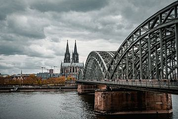 Keulen Hohenzollernbrücke van Rafaela_muc