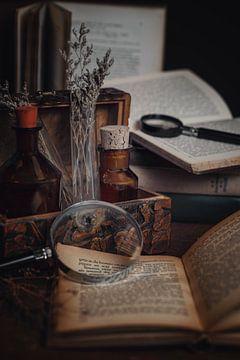 Alchemie Vintage stilleven van Nikki IJsendoorn