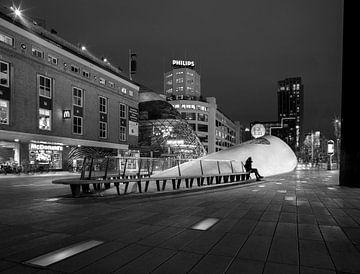 Eindhoven Stadtzentrum, 18. Septemberplein von Maurits van Hout