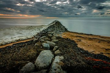 Zicht over de Waddenzee van Jaap Terpstra