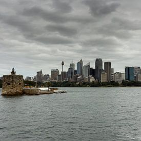 Sydney Skyline van Chris van Kan