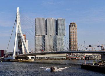 Erasmusbrug, Rotterdam van Julia Wezenaar