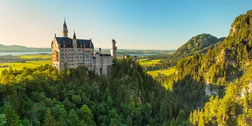 Schloss Neuschwanstein, Allgäu, Bayern, Deutschland von Markus Lange