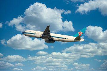 China South Cargo, registratienummer B 2072. Een Boeing 777F van Gert Hilbink