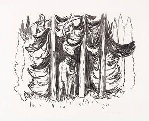 Skogen (Der Wald), EDVARD MUNCH, 1909