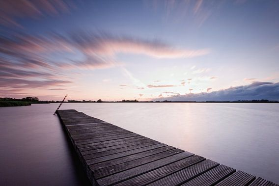Schildmeer tijdens Zonsondergang van Frenk Volt