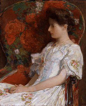 Childe Hassam, Der viktorianische Stuhl, 1906 von Atelier Liesjes