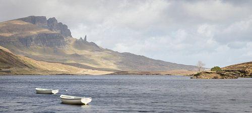 Landschap Isle of Skye van