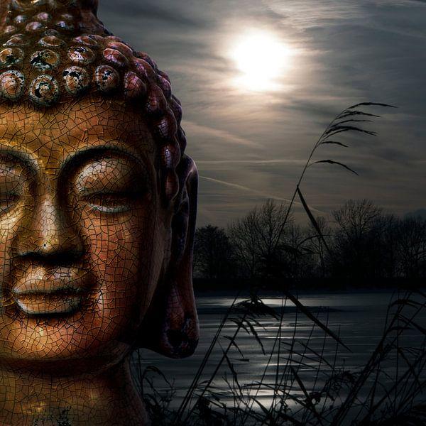 Zen (Boeddha) II van Rob van der Teen