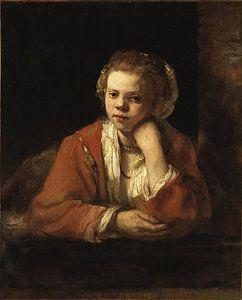 The Kitchen Maid, Rembrandt