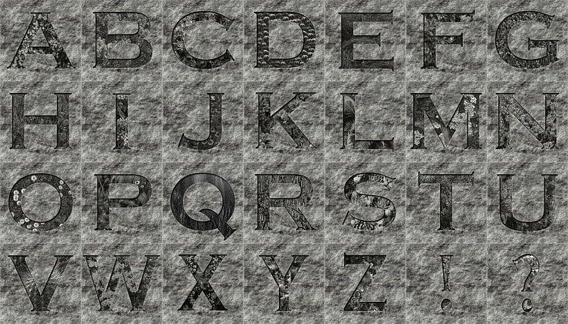 Alphabet No.10 sur Leopold Brix