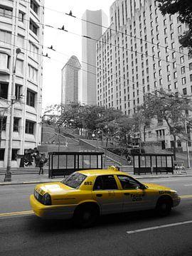 Yellow Cab - Taxi van Globe Trotter