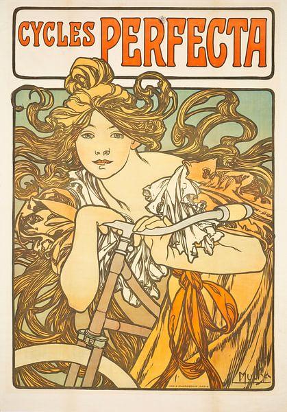 Zyklen Perfecta, Alphonse Mucha von Meesterlijcke Meesters