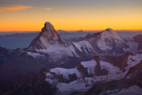 Matterhorn bei Sonnenuntergang