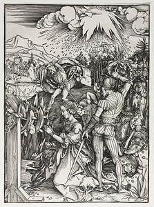 Das Martyrium der heiligen Katharina von Alexandria, Albrecht Dürer