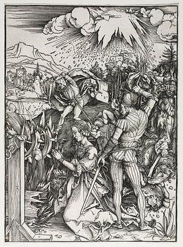 Het martelaarschap van de heilige Catherina van Alexandrië, Albrecht Dürer van De Canon
