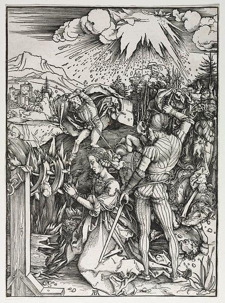 Das Martyrium der heiligen Katharina von Alexandria, Albrecht Dürer von De Canon