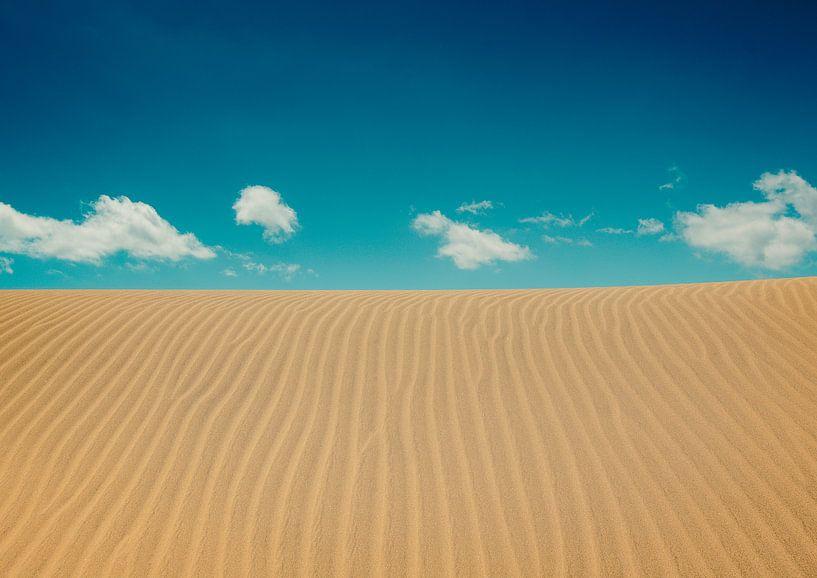 Rustig strand van Tomasz Baranowski
