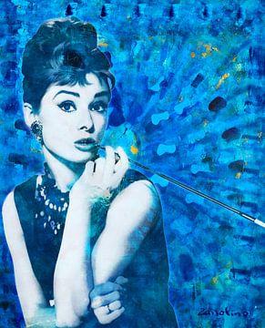 Audrey Hepburn van Giovani Zanolino