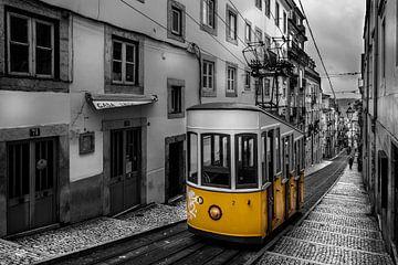 Straßenbahn Lissabon von Jens Korte