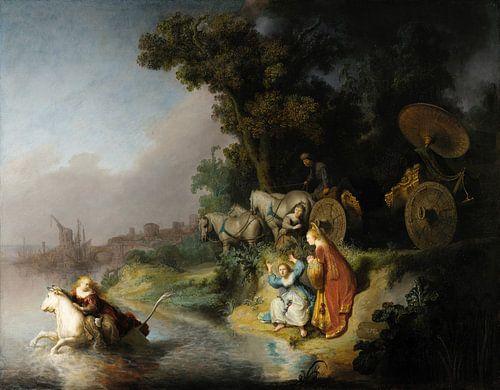 De ontvoering van Europa - Rembrandt van Rijn van Hollandse Meesters
