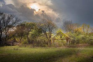 Zerfallenes Landhaus in Weißrussland