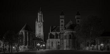 Maastricht - Vrijthof - Sint Servaas Basiliek - Sint Janskerk